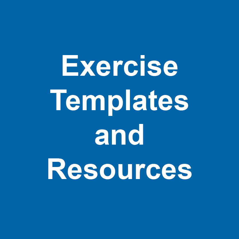Exercise templates and resources logo